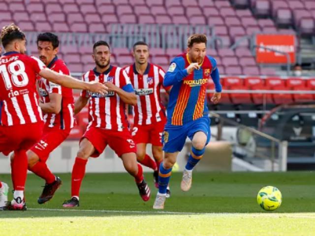 Video Barcelona - Atletico Madrid: Đại chiến căng thẳng, cay đắng bàn thắng hụt