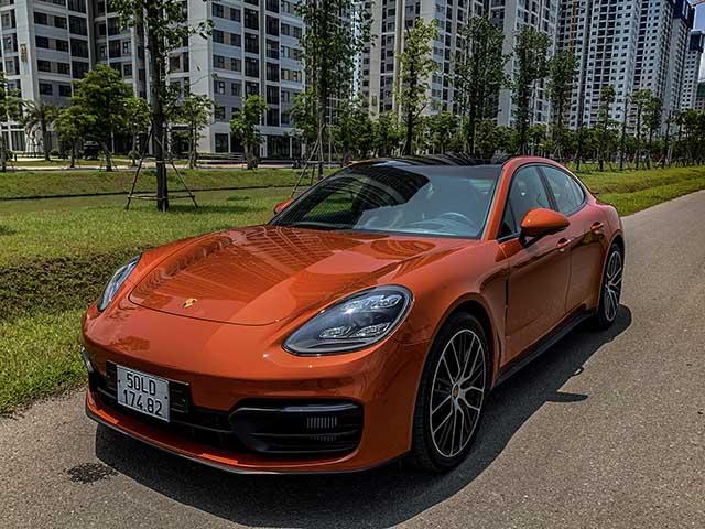 Trải nghiệm xe Porsche Panamera, xế sang dành cho ai mê tốc độ