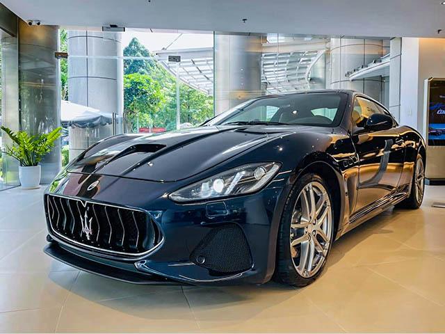 Chi tiết mẫu xe Maserati GranTurismo MC Sportline tại Việt Nam, giá bán hơn 13,8 tỷ đồng
