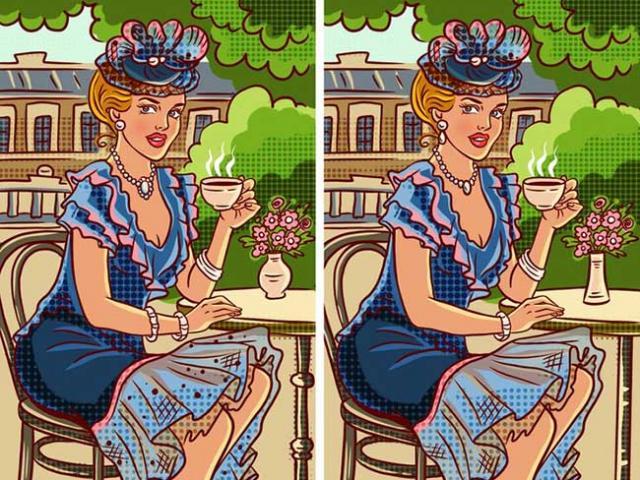Tìm sự khác biệt trong những tấm bưu thiếp này
