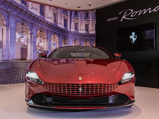 Chi tiết Ferrari Roma chính hãng tại Việt Nam, có giá bán hơn 21 tỷ đồng