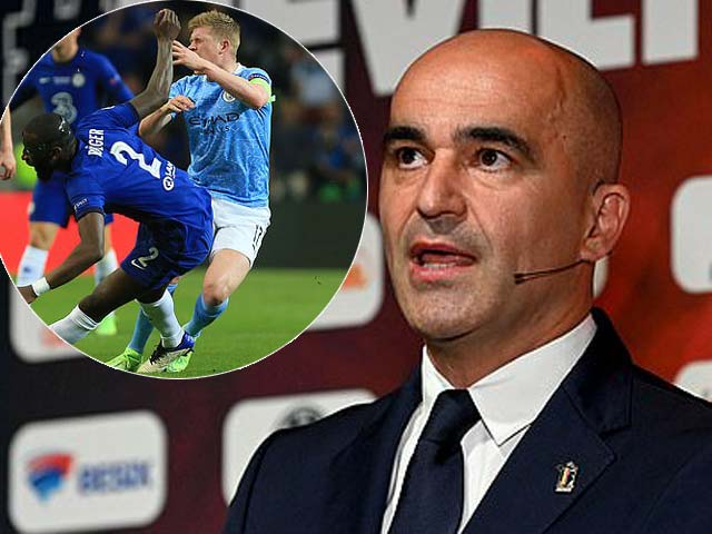 """HLV ĐT Bỉ giận dữ vì De Bruyne chấn thương nặng, """"thủ phạm"""" Rudiger lên tiếng"""
