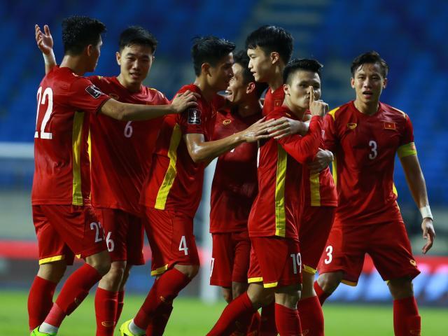 """ĐT Việt Nam niềm vui nhân đôi, sắp """"đại náo"""" bảng xếp hạng FIFA"""