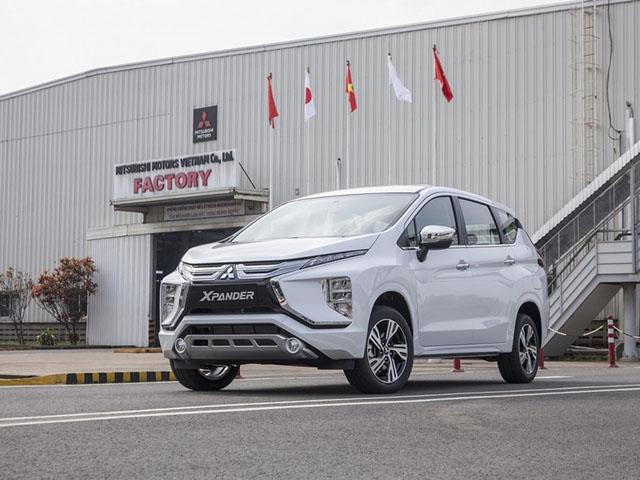 Giá xe Mitsubishi Xpander lăn bánh tháng 6/2021