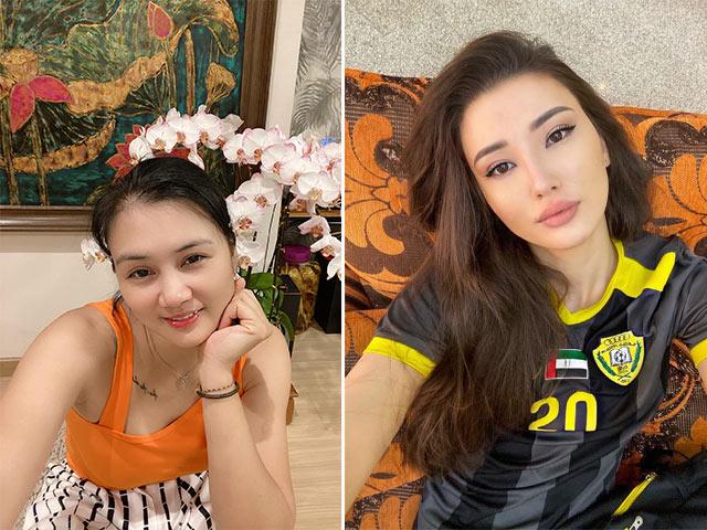 """Hoa khôi bóng chuyền Kim Huệ kể chuyện """"giường chiếu"""", Sabina khoe áo đấu"""