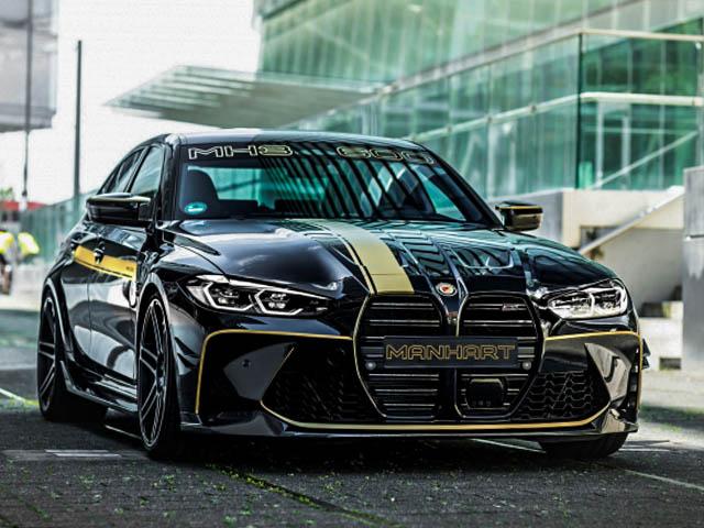 BMW M3 được hãng độ Manhart nâng công suất lên đến hơn 620 mã lực