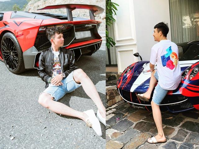 Choáng ngợp với biệt thự của 2 đại gia chơi siêu xe nức tiếng showbiz Việt