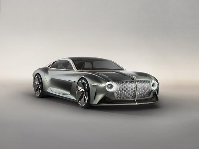 Bentley EXP 100 GT concept với thiết kế tương lai đẹp như mơ