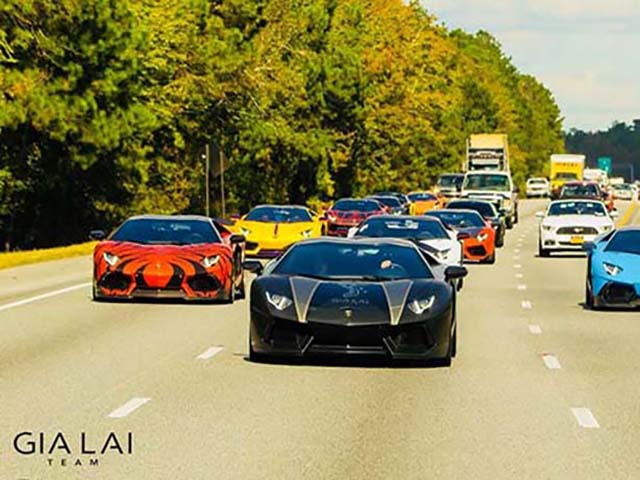 Gia Lai Team sẽ tham gia hành trình siêu xe Car Passion 2020