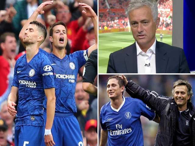 Chelsea thua thảm MU, Mourinho chỉ trích Lampard: Âm mưu cướp ghế trò cũ?