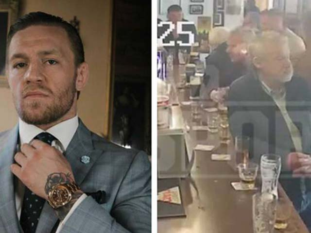 "Stunned by ""Mad Man"" McGregor: Hit the old man for an invitation to drink alcohol"
