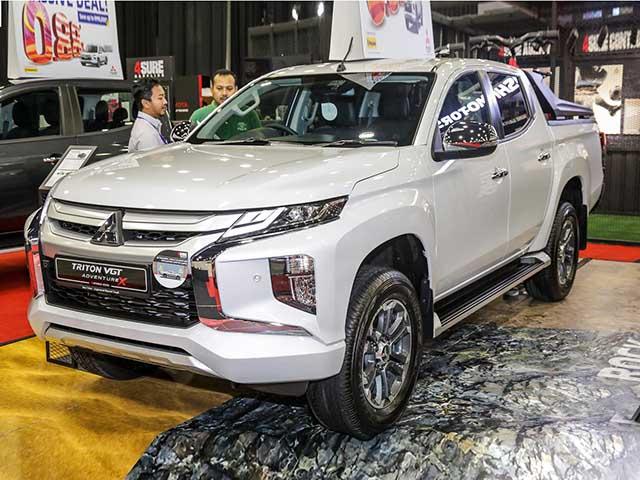 Cận cảnh Mitsubishi Triton thế hệ mới phiên bản đặc biệt Athlete tại Thái Lan - 12