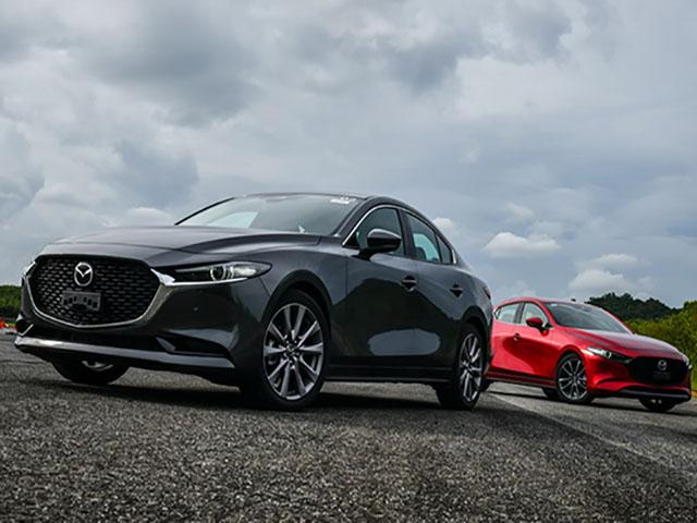 Những hình ảnh mới nhất của xe Mazda 3 2020 sẽ cập bến Việt Nam trong thời gian tới