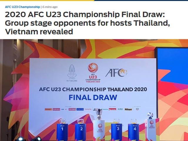 U23 Thái Lan lọt bảng đấu khó, siêu HLV Nhật vẫn tự tin đoạt vé dự Olympic - 3