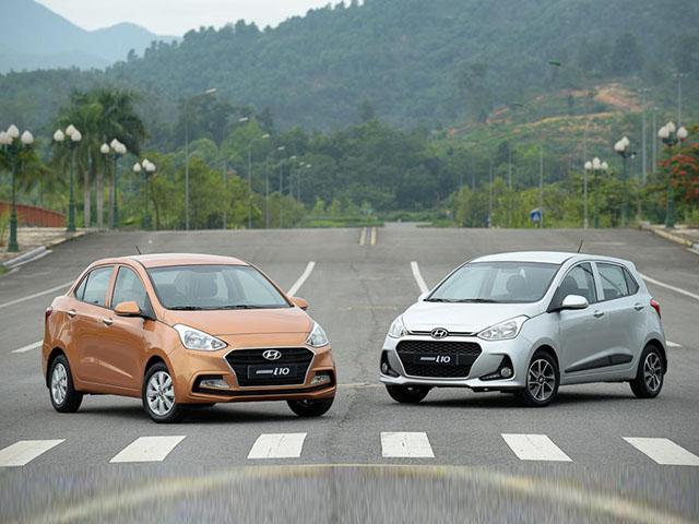 Giá lăn bánh xe Hyundai Grand i10 mới nhất tháng 7/2020