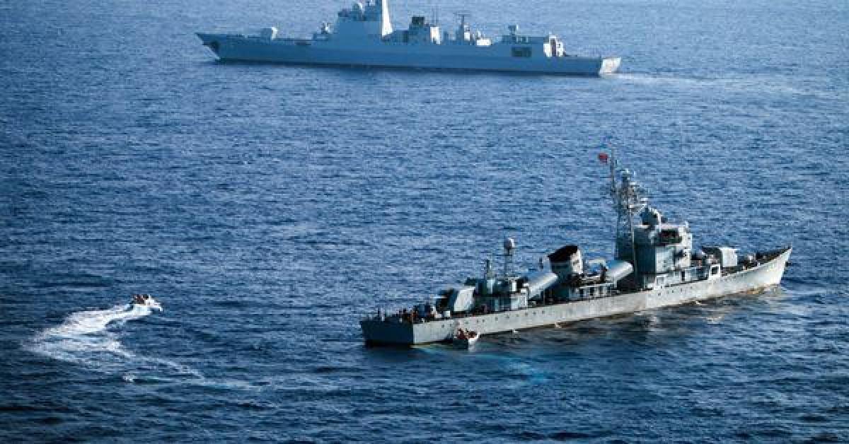 Bộ Quốc phòng Mỹ chỉ trích Trung Quốc tập trận trên biển Đông