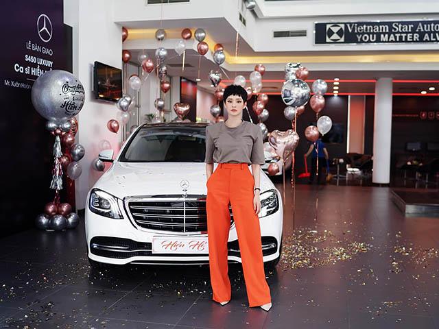 Nữ ca sĩ Hiền Hồ tậu Mercedes-Benz S450L Luxury gần 5 tỷ đồng