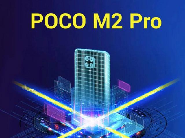 Poco M2 Pro trình làng với sạc nhanh 33W, giá rẻ bất ngờ