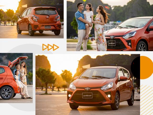 Toyota Wigo 2020: Xe đi trong phố, giông tố ở ngoài
