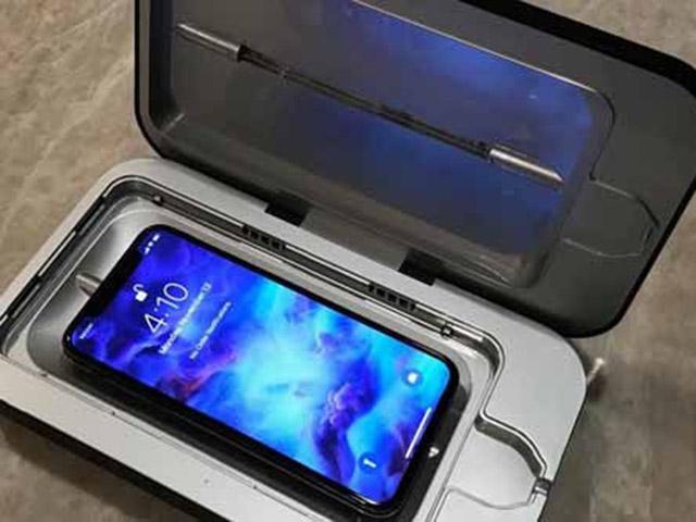 Những thiết bị trị sạch virus bám trên iPhone