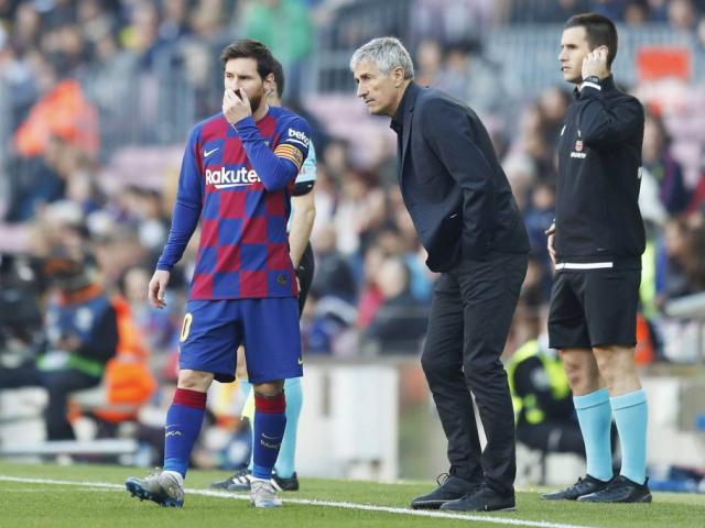 Barca tìm thầy mới cho Messi: Ứng viên nặng ký từng là kình địch - 4