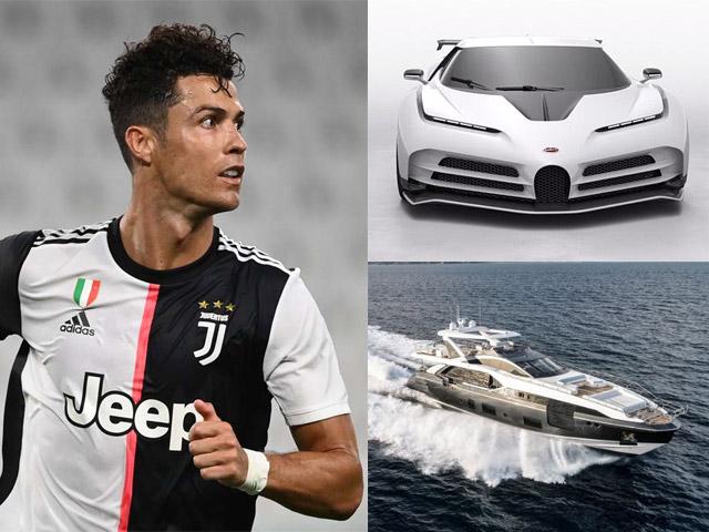 """Sau siêu xe, """"tỷ phú USD"""" Ronaldo vung 166 tỷ đồng tậu siêu du thuyền"""