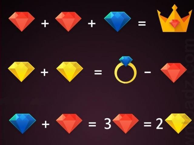 Câu đố kim cương siêu khó, chỉ 10% người chơi giải được