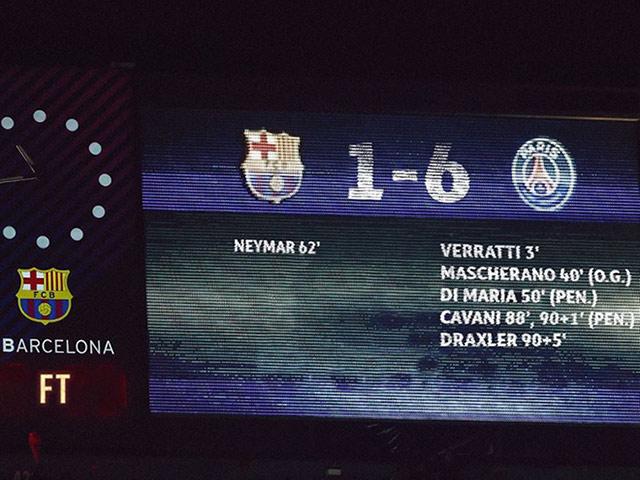 Ảnh chế: Khi thế giới bóng đá đảo lộn, PSG ngược dòng thần thánh trước Barca