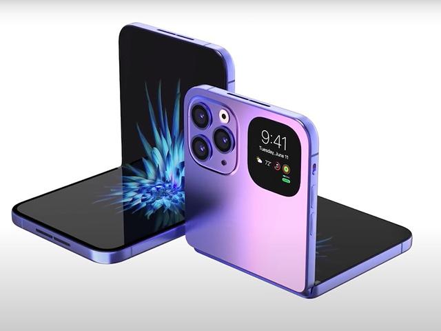 iPhone có màn hình gập lại có gì thú vị hơn Galaxy Fold?