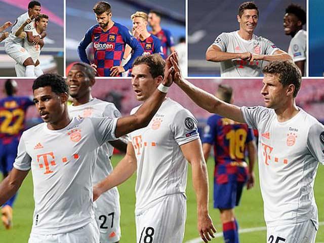"Barca thua sốc 2-8, cả châu Âu ""giải cứu"" Messi: Hẹn Ronaldo ở Serie A? - 2"