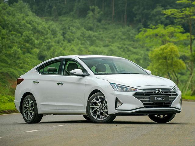 Giá xe Hyundai Elantra lăn bánh mới nhất tháng 8/2020