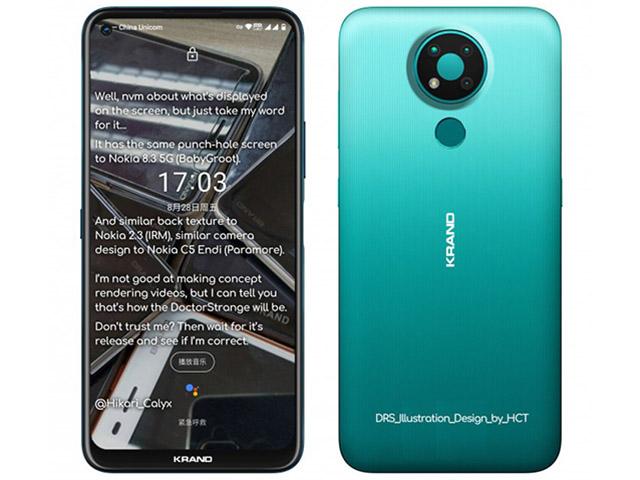 Đã có dáng hình Nokia 3.4 - ngon, bổ, rẻ