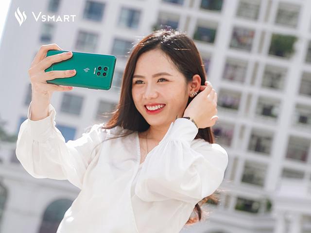 Vsmart Aris với camera selfie dưới màn hình lại được nhá hàng