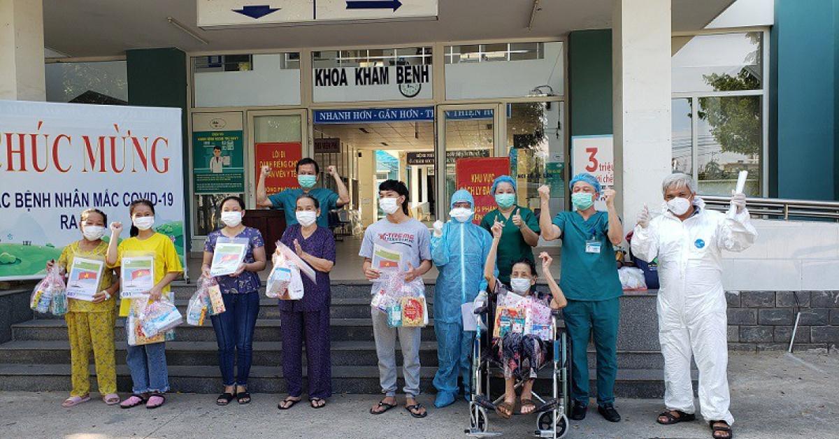 Đà Nẵng chỉ còn 12 bệnh nhân COVID-19 đang điều trị