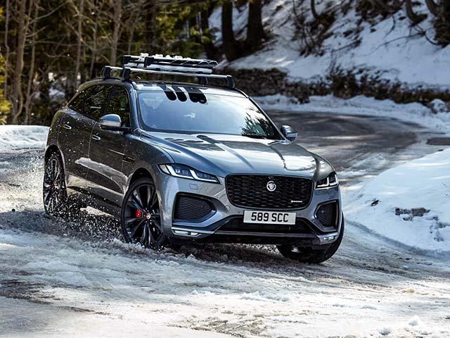 Jaguar F-Pace 2021 chính thức trình làng, thay đổi mạnh ở thiết kế