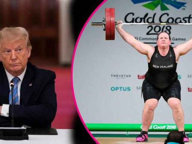 VĐV chuyển giới dự Olympic Tokyo bị cựu tổng thống Donald Trump 'tấn công'