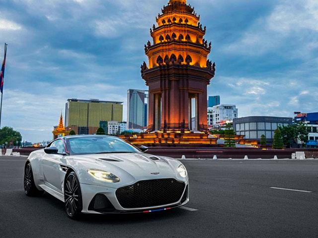 Aston Martin hàng hiếm DBS Superleggera Concore về tay đại gia Đông Nam Á