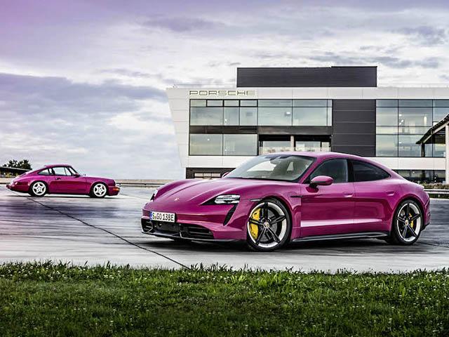 Porsche Taycan bản nâng cấp ra mắt, thêm nhiều tính năng hấp dẫn