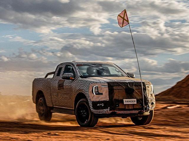 Ford Ranger thế hệ mới chạy thử, sẽ có mặt tại Việt Nam vào năm sau