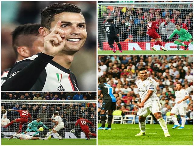 Ronaldo - Suarez - Salah đua tài, Tottenham khiến nước Anh xấu hổ ở lượt 2 Cúp C1 - 4