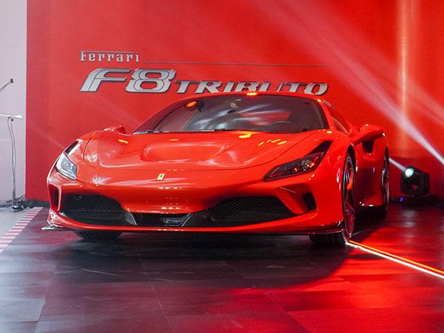 Chi tiết siêu xe Ferrari F8 Tributo lần đầu xuất hiện tại Việt Nam - 16