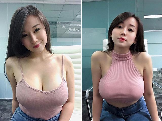 Vì quá nóng bỏng, cô gái bán hàng online luôn bị khách hàng nam quấy rối