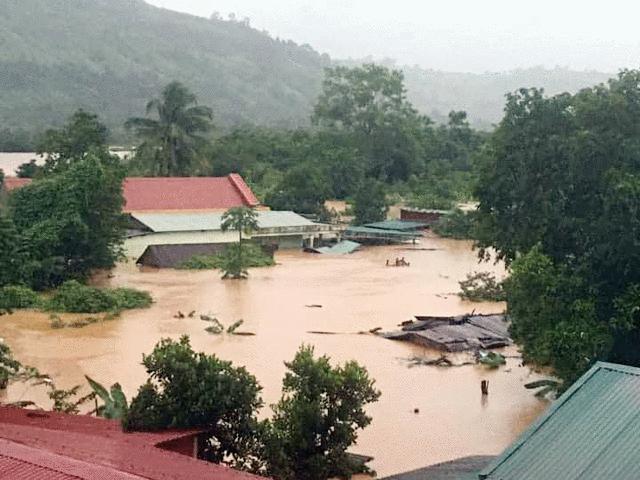 11 người chết, mất tích do mưa lũ ở miền Trung