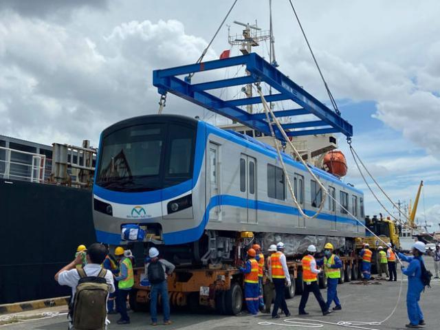 Cuối năm 2020, tàu metro số 1 sẽ chạy thử nghiệm trong depot Long Bình