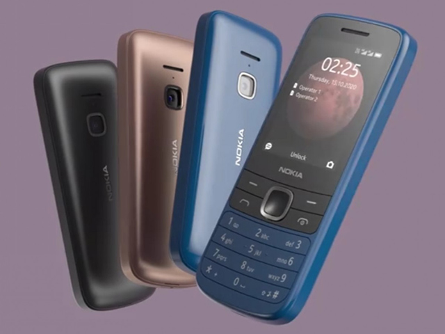 Nokia 215 4G và Nokia 225 4G chính thức ra mắt