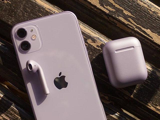 Mua iPhone 11 được tặng tai nghe AirPods miễn phí