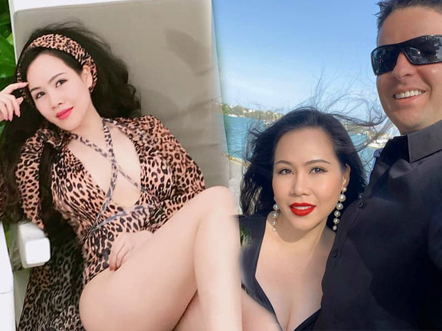 """Thực hư việc """"Bà Tưng màn ảnh Việt"""" kết hôn bạn trai Tây cao gần 2m"""