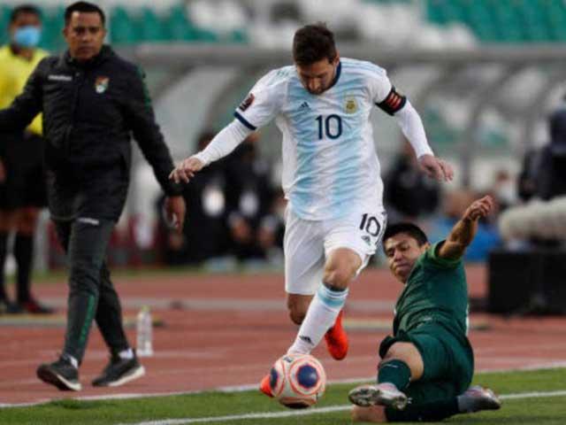 Video highlight trận Bolivia - Argentina: Ngược dòng vất vả, công lớn dự bị