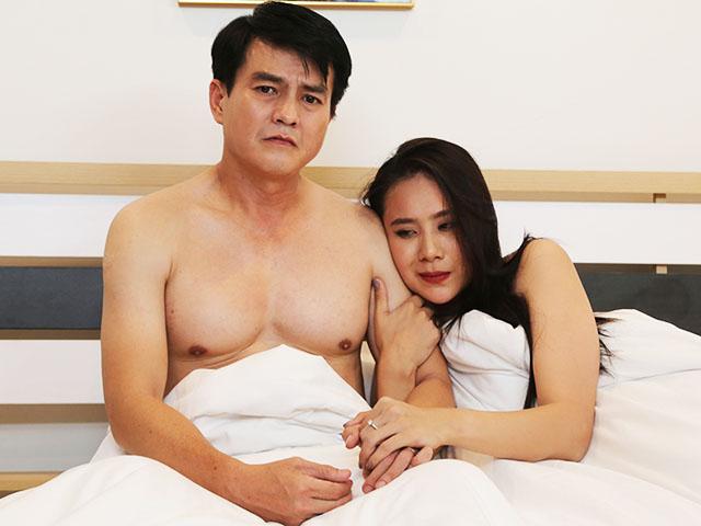 Lộ cảnh nóng Hồ Bích Trâm xin đạo diễn đóng cùng Cao Minh Đạt