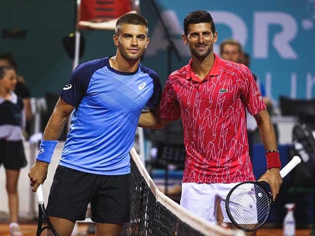 Video tennis Djokovic - Coric: Kinh hoàng tie-break, 2 set phân định
